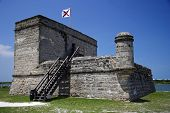 Fort Matanzas National Monument, St. Augustine, Florida poster