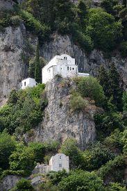 Atrani Chiesa Di Santa Maria Del Bando, Italy