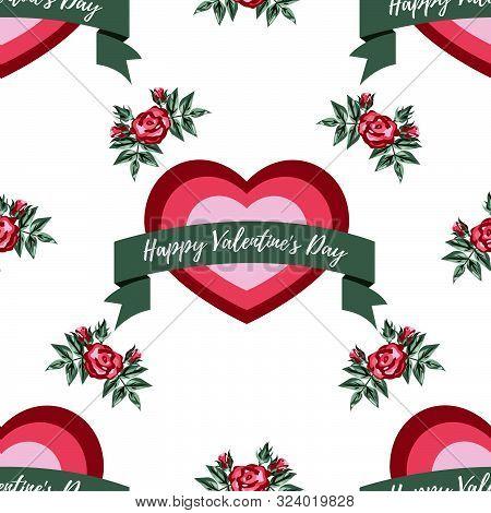 Valentine's Day Seamless Pattern