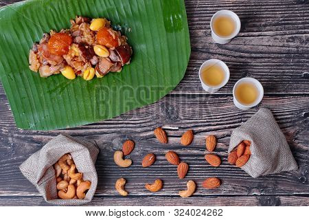 Ready Served Of  Traditional Sticky Rice Dumpling For Dragon Boat Festival,