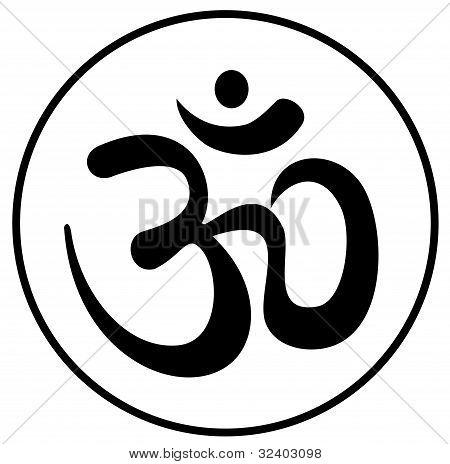 Om aum a symbol