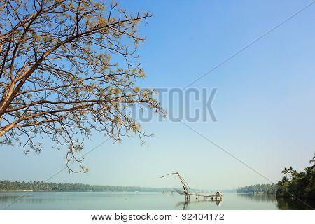 Красивая Керала Затон - cherai, Cochin(kochi)