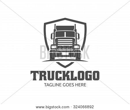 Truck Logo Template, Perfect For Cargo, Delivery And Logistic Business.