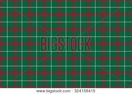 Welsh Tartan. Seamless Rectangle Pattern For Fabric, Kilts, Skirts, Plaids