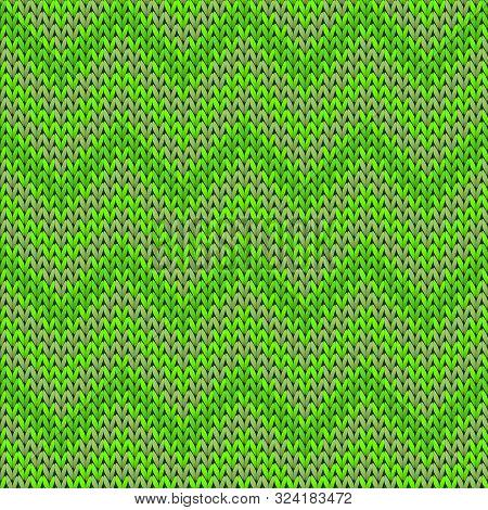 Cozy Chevron Stripes Knit Texture Geometric Seamless Pattern. Plaid Knitwear Fabric Print. Nordic St