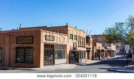 Santa Fe City Center, New Mexico Usa.