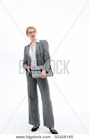 Authoritative Confident Businesswoman