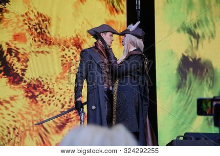 Kyiv, Ukraine - September 22, 2019: Comic Con 2019. It Is The Largest Pop Culture Annual Event In Uk