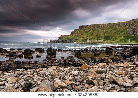 Breathtaking Landscapes Of Ireland, The Emerald Island. Rough Coastviews, Colorful Landscapes, Thous