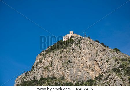 Castle  On Top Of A Rock