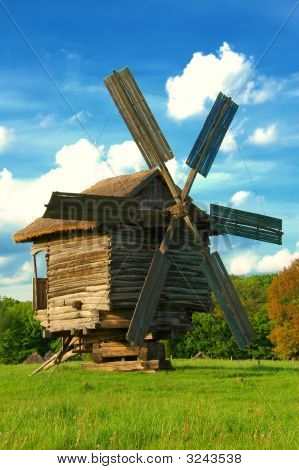 Old Traditional Windmil