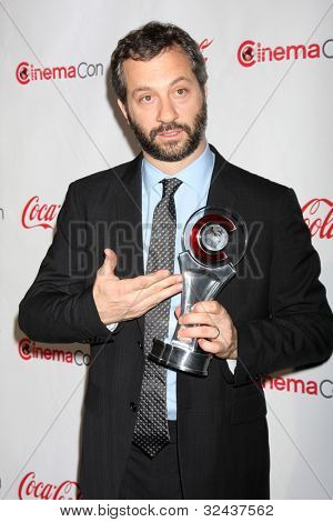 LAS VEGAS - APR 26:  Judd Apatow arrives at the CinemaCon 2012 Talent Awards at Caesars Palace on April 26, 2012 in Las Vegas, NV
