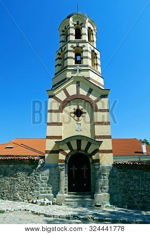 Saint Nedelya Church Eastern Orthodox Church In City Of Plovdiv, Bulgaria. Plovdiv Is The European C