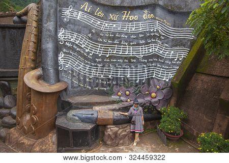 Dalat, Vietnam, July 4, 2019:tunnel Clay Park In Dalat City In Vietnam, Clay Theme Park