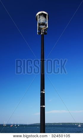 Lamp Post By The Sea
