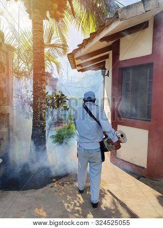 Man Spread Poison Fog