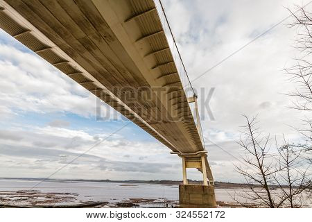 The Severn Crossing From Beachley