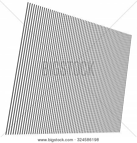 Vertical Parallel Lines, Stripes. Straight Streaks, Strips Design Element. Linear, Lineal Pattern. L