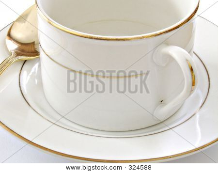 Coffee Cup Saucer And Spoon1