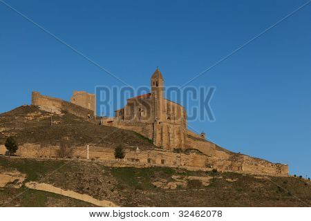 View of San Vicente de la Sonsierra La Rioja Spain poster