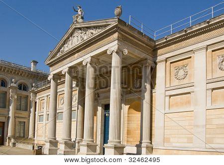 Ashmolean Museum facade, Oxford