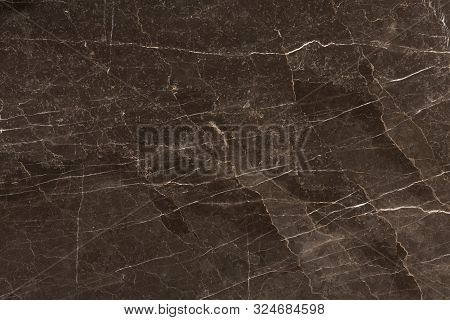 Dark Brown Marble Background Texture. Marble Texture For Wall Decoration.