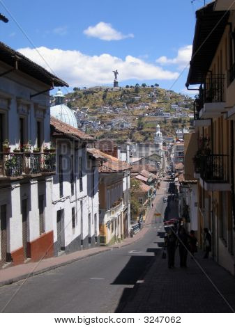 Street In Quito