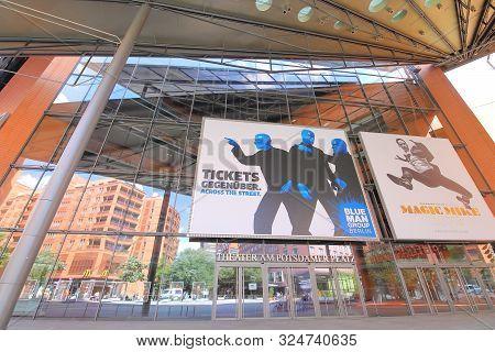 Berlin Germany - June 8, 2019: Theater At Potsdamer Platz Berlin Germany