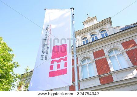 Berlin Germany - June 9, 2019: Charlottenburg Wilmersdorf Museum Berlin Germany