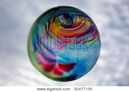 Colorful Glass Ball