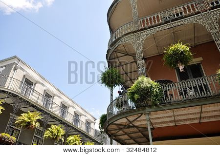 New orleans Balconies Adorned