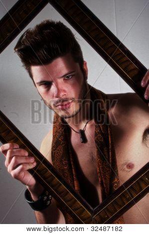 Framed portrait 8