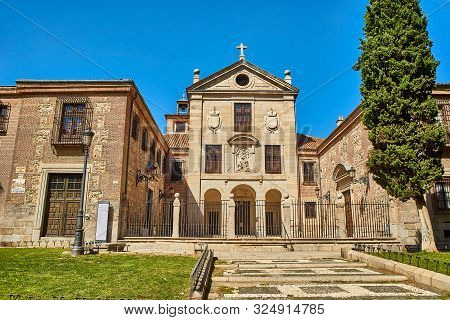 Royal Monastery Of La Encarnacion. Madrid, Spain.