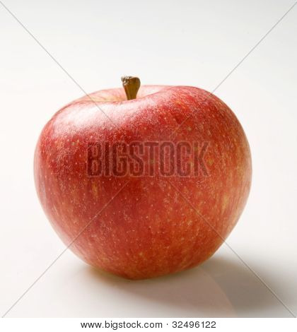 A Sigle Red Apple
