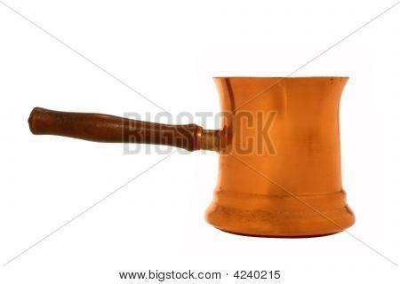 Antique Copper Sauce Pan