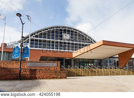 Manchester, England - March 17:  Manchester Central Convention Complex Pictured On March 17, 2018 Am