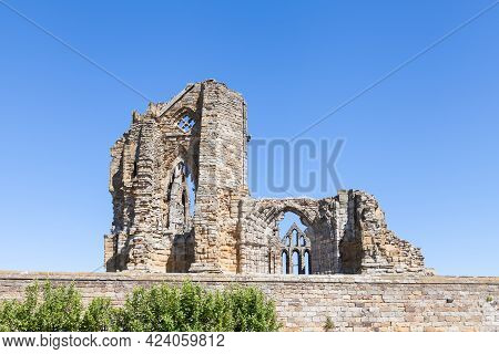 Whitby, England - June 25:  The Ruins Of Whitby Abbey In Yorkshire, Northern England On June 25, 201