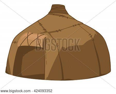 Hut Of Ancient People, Golden Horde House Shelter