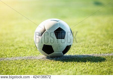 Football At Penalty Spot