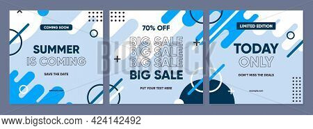 Sale Square Banner Template For Social Media Posts, Mobile Apps, Banners Design, Web Or Internet Ads