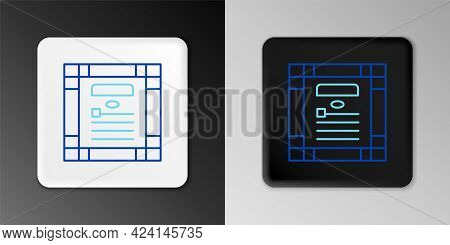 Line 26 November India Constitution Day Icon Isolated On Grey Background. Colorful Outline Concept.