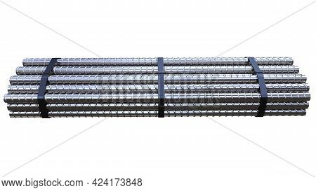 Big Rebar Pack - Isolated Cg Industrial 3d Rendering