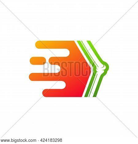 Fast Bone Logo Vector Template, Creative Bone Logo Design Concepts