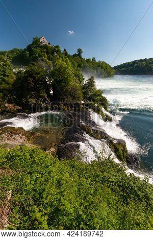 Rhine Falls Are Europes Biggest Waterfalls Located Near Schaffhausen In Switzerland 28.5.2021