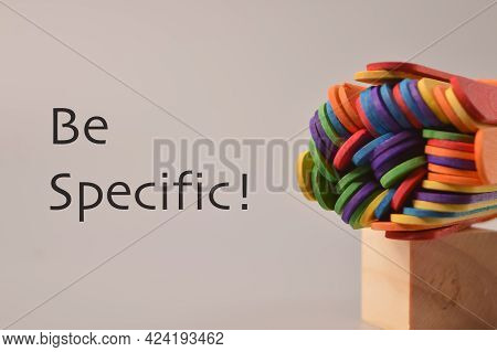 Colorful Ice Cream Sticks With Text Be Specific!
