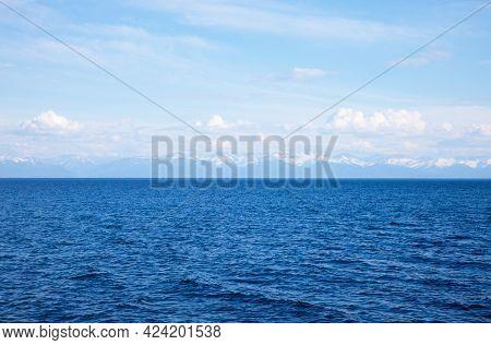 View Of The Lake Baikal, Siberia. Russia.