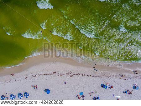 Orange Beach, Alabama Usa 12 June 2021 The Alabama Gulf Coast At Orange Beach