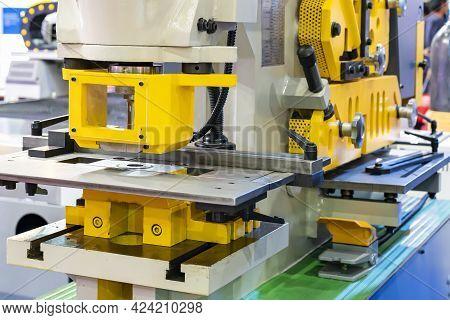 Hydraulic Punch And Shear Machine For Cutting Shearing Notching Punching Various Shape Metal Such As