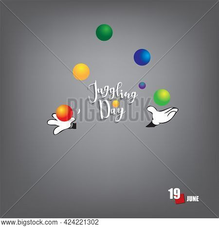 The Calendar Event Is Celebrated In June - Juggling Day
