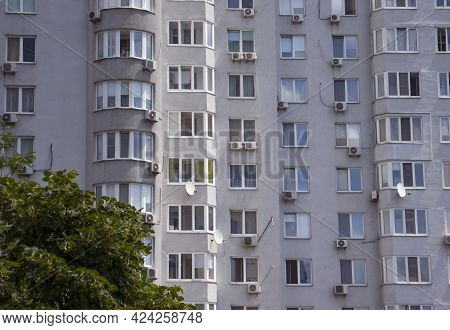Beautiful Urban High-rise Residential Buildings New, Property